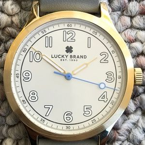 Lucky Brand Jefferson Nato 38mm Wrist Watch